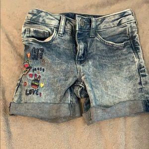 GAP• Girls• denim• shorts•size 5